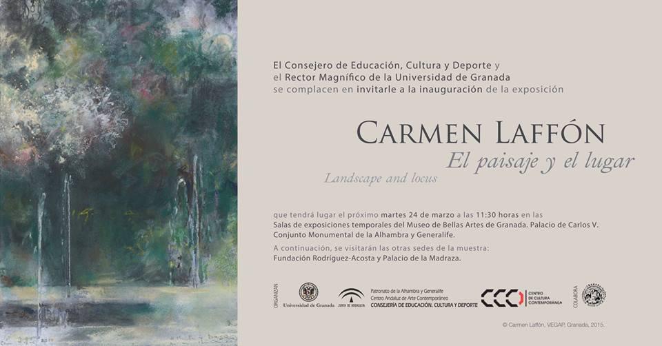 Invitación Carmen Laffón
