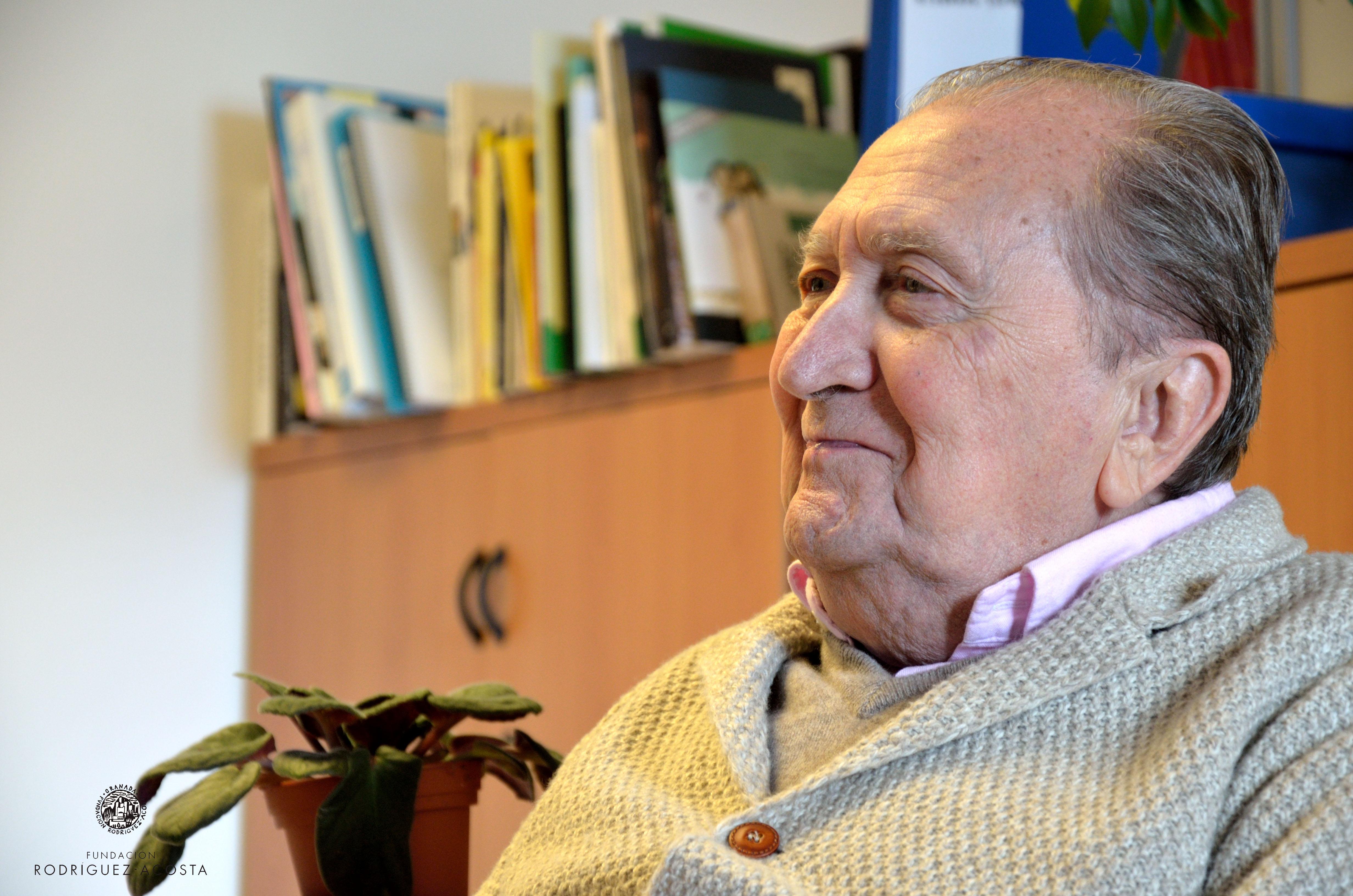 Miguel Rodríguez-Acosta lleva 65 años como presidente de la Fundación (Fotos: Luis Morales)