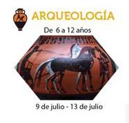 Taller de arqueología cartel