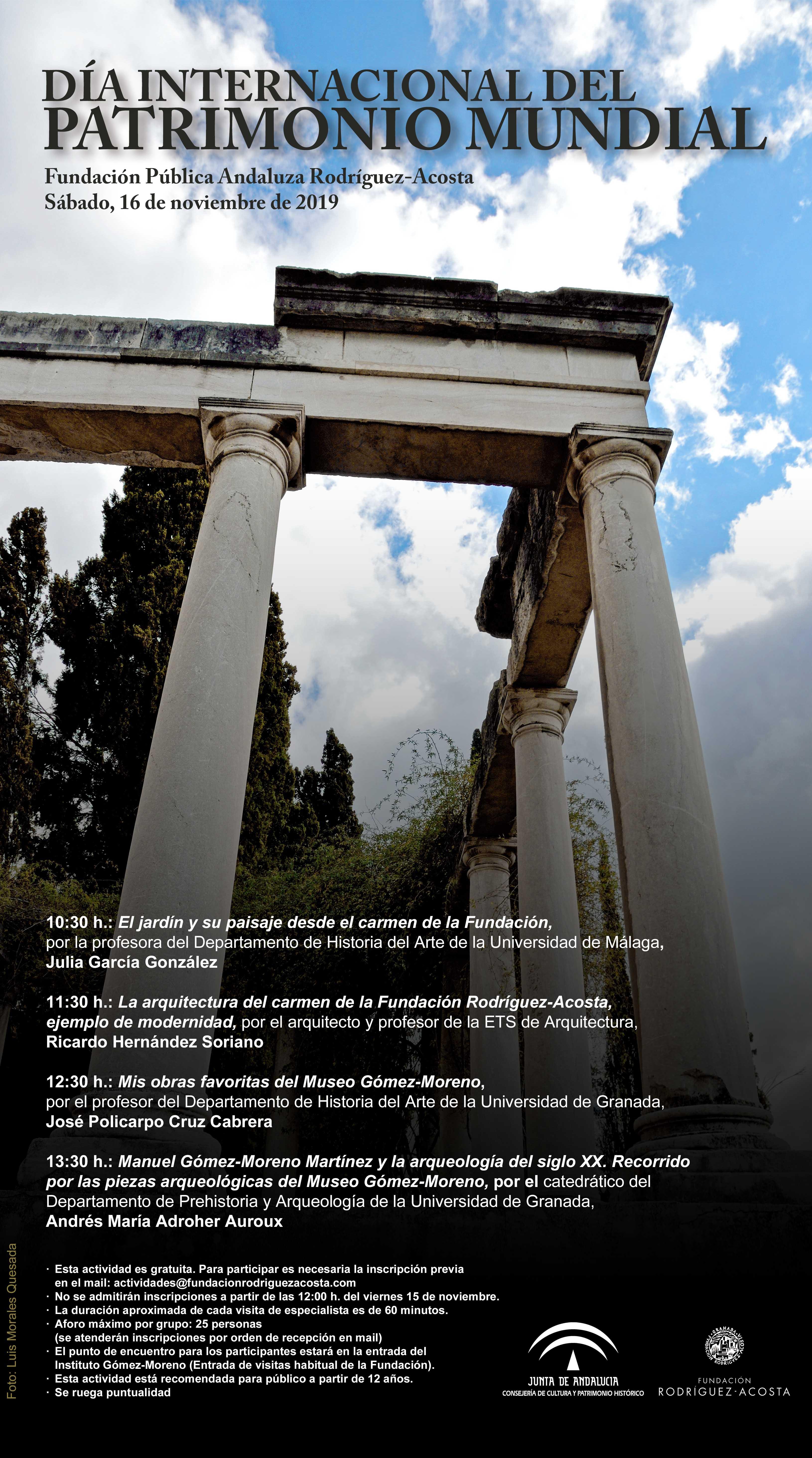Cartel Día Patrimonio 2019